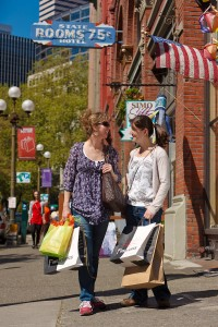 Shopping in Pioneer Square