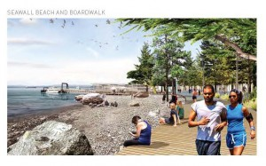 Proposed Waterfront Beach in Pioneer Square