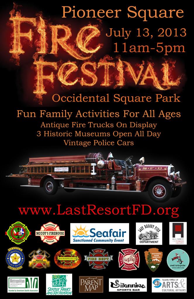 2013 Fire Festival Poster