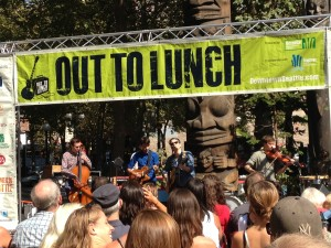 Hey Marseilles Out to Lunch Concert in Occidental Square Park
