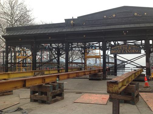 Washington Street Boat Landing removal process