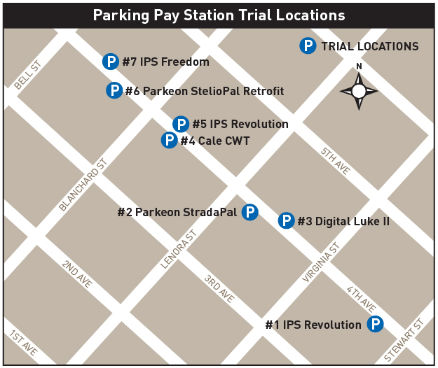 Trial Pay Station Map