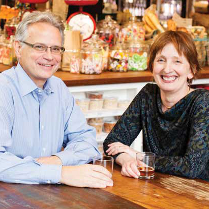 Kevin Daniels and Karen True. Photo credit Andrew Vanasse, courtesy of Seattle Magazine.